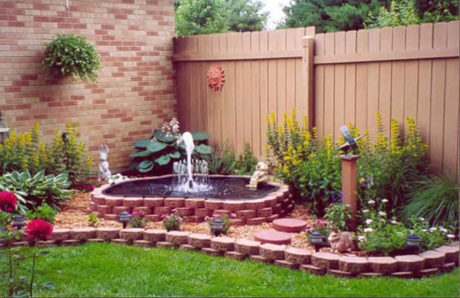 Красивый сад своими руками с фото